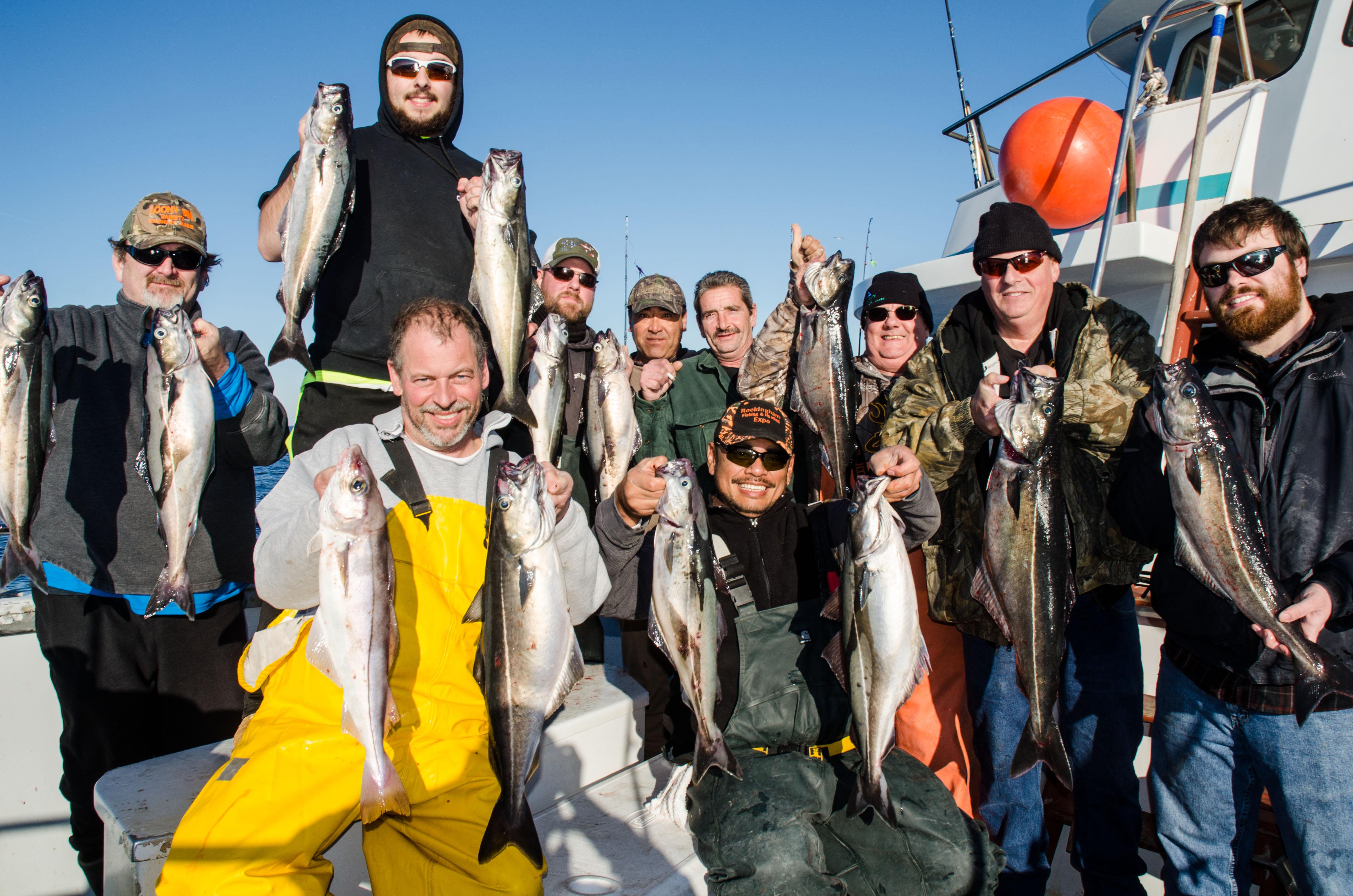 Bridging the offseason gap nh pollock fishing report for Nh saltwater fishing license