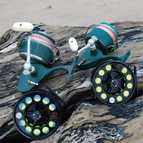 Though the design is different, spinning and fly reels both operate on a drag principle.