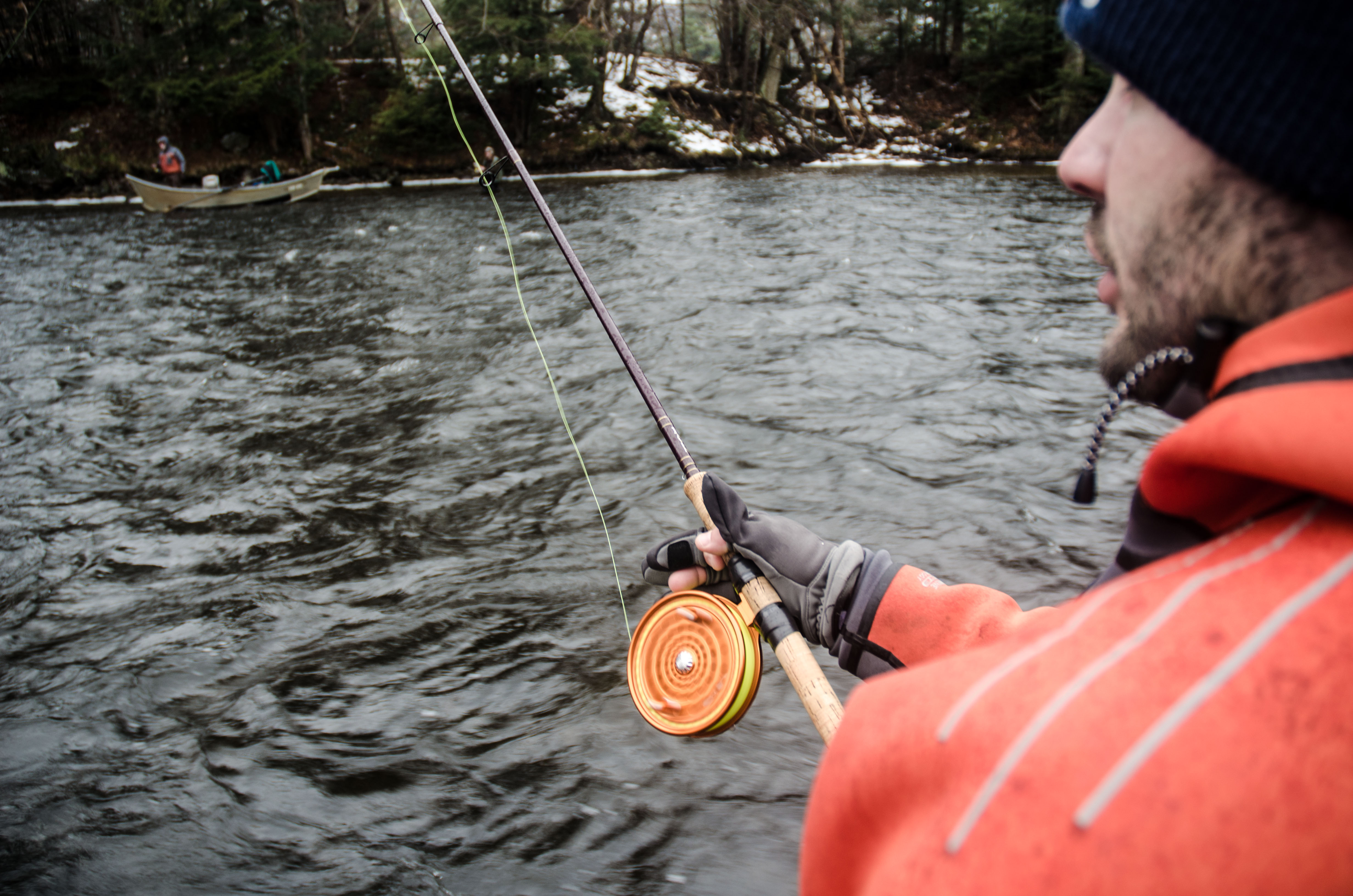 Stuck on steelhead salmon river report on the water for Salmon river ny fishing map