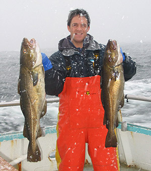 If you're willing to brave the winter cold, and even a few snowflakes, the cod will be out there for the catching.