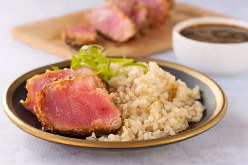 Grilled Marinated Tuna