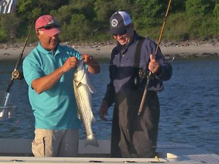 On The Water TV - Plum Island Stripers