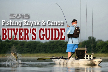 2016 Fishing Kayak & Canoe Buyer's Guide