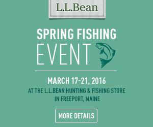 LL Bean Spring FIshing