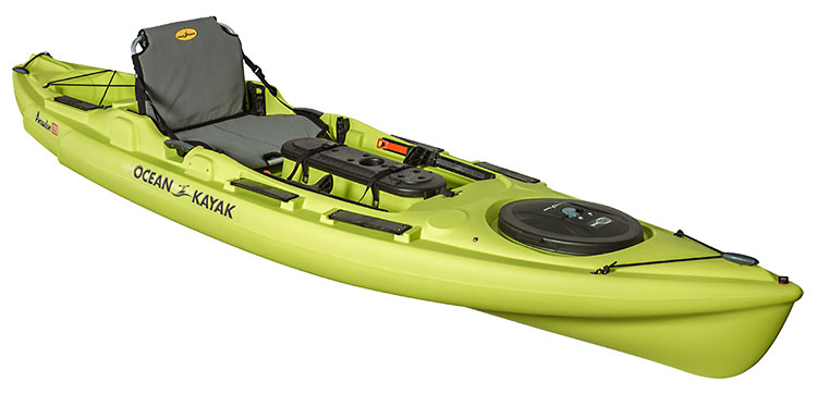 2016 fishing kayak canoe buyer 39 s guide on the water for Wide fishing kayak