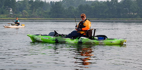 Modern fishing kayaks are comfortable, stable, and perfect for fishing inshore rivers and estuaries.