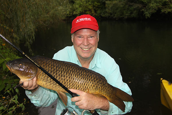 """Carp are slightly line shy, quite noise shy, and much smarter than their """"big and dumb"""" stereotype."""