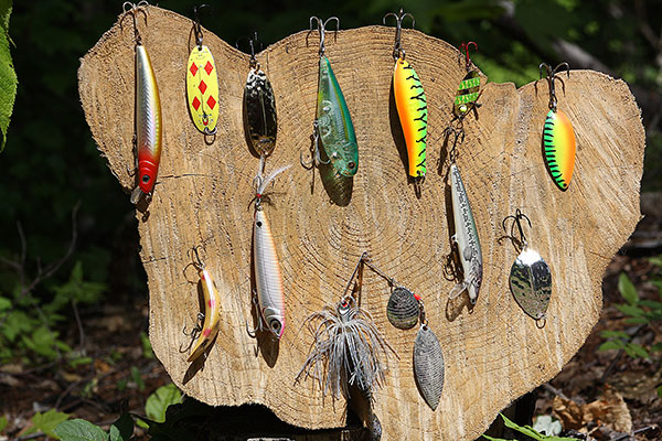 Pike anglers should keep a wide variety of lures on hand