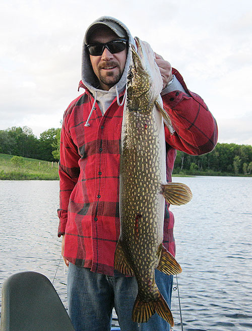 Pike up to 40 inches are a possibility on the Connecticut River.