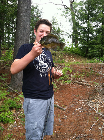 Angling for spring panfish is a great way to introduce kids to fly-fishing
