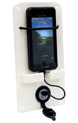 Boat Outfitter' dash-mount phone holder