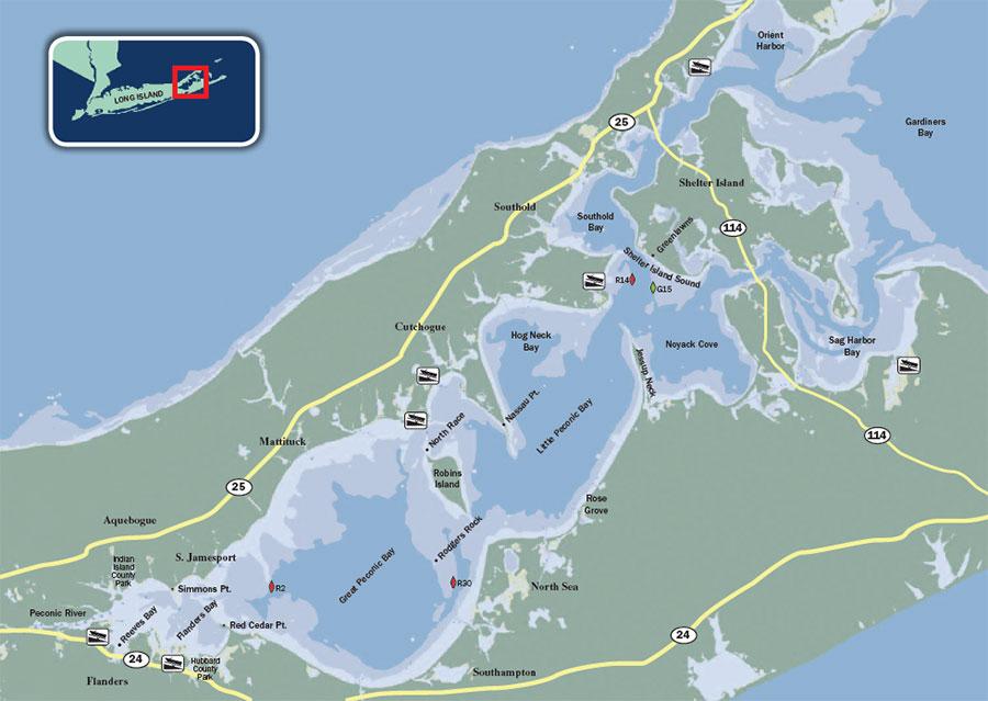 Peconic Bay Long Island