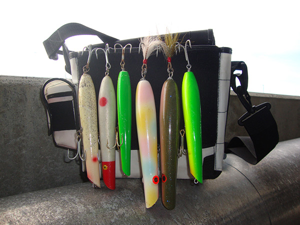 On any particular night during the season, you could lift the flap of my plug bag and see a mix of the surfcasting's four