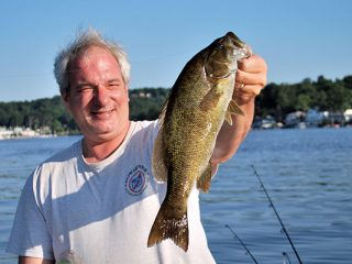 Smallmouth Bass Love Leaches