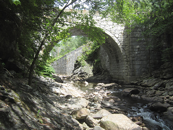 The Gilsum Stone Arch Bridge