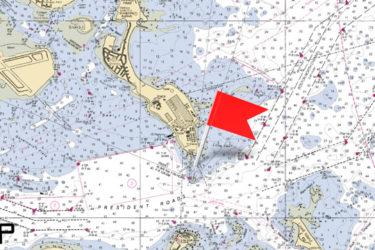 Deer Island raster map