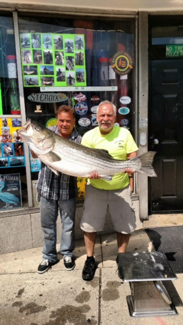 2)Not to be outdone, Captain Russ Burgess caught this 53.5-pounder the very next night on the same plug!