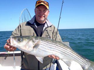 diamond jig striped bass