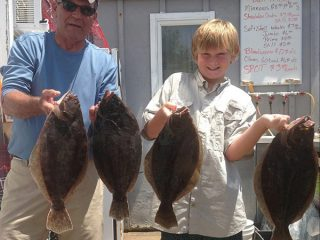 Absecon Bay Sportsman reported that the Flounder fishing keeps getting better each week
