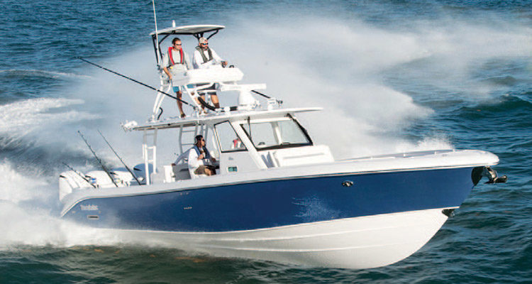 Everglades 435 cc on the water for Celtic quest fishing port jefferson ny