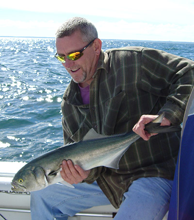One of the reasons that soft plastics are so effective on bluefish and other saltwater game fish is because of their texture and lifelike swimming action.