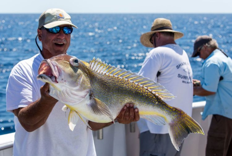 The primary target of the trip was large golden tilefish. This fish was the runner-up in the golden tile pool.