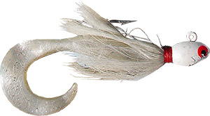 Bucktail Jig with Curly Tail