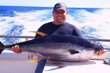 The Gambler out of Point Pleasant has had some good offshore Tuna trips as of late.