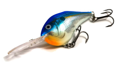 Deep diving Rapala crankbaits are largemouth candy in autumn.