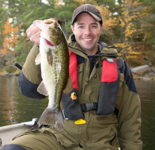 As winter approaches, largemouth will put on the feedbag and move around in search of prey.