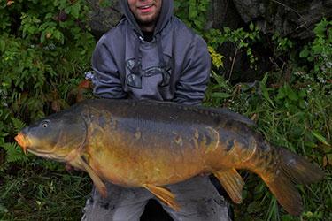 43-Pound Mirror Carp