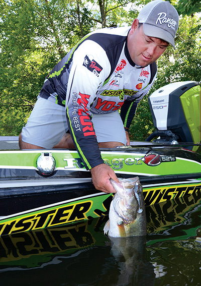 Today, Mr. Twister soft-plastic lures are popular with both amateur and professional bass fishermen.