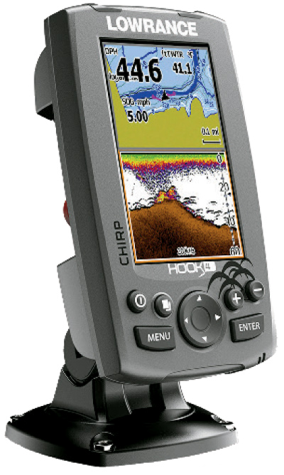 Lowrance HOOK-4 Fishfinder and Chartplotter