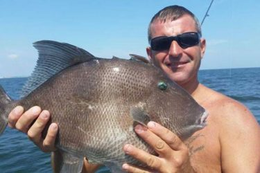 New Jersey Angler Lands State Record Gray Triggerfish