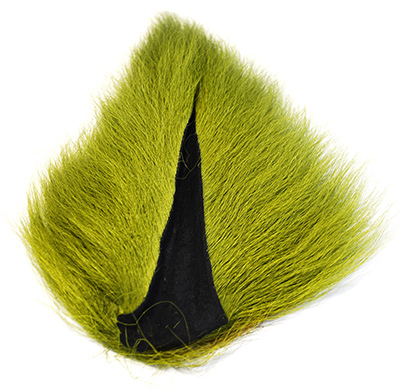 Saltwater bucktail is loaded with fine, straight hairs that will enhance every pattern that calls for deertail.