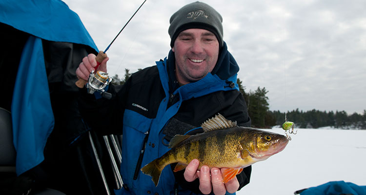 Hard Candy - Ice bigger panfish with horizontal hard baits.