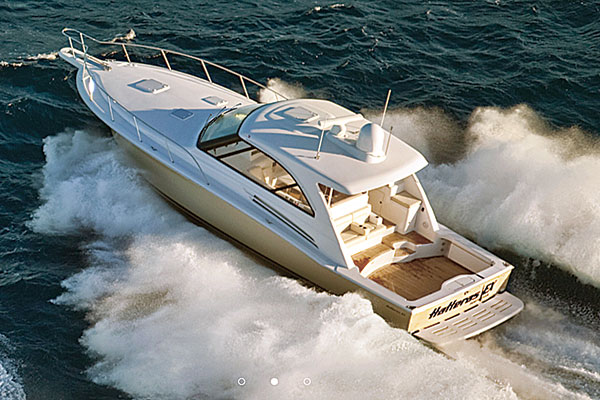 Hatteras 45EX Cruiser