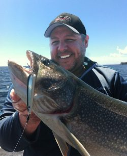 Savant Spoons enjoy a strong following in the Great Lakes area and all across Canada, as this chunky lake trout will attest.