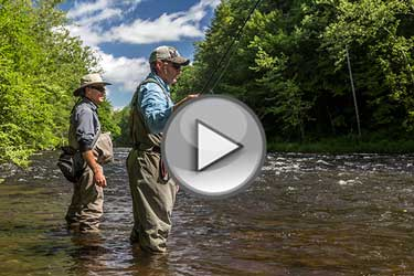 On The Water Adventures - Fly Fishing The Farmington River