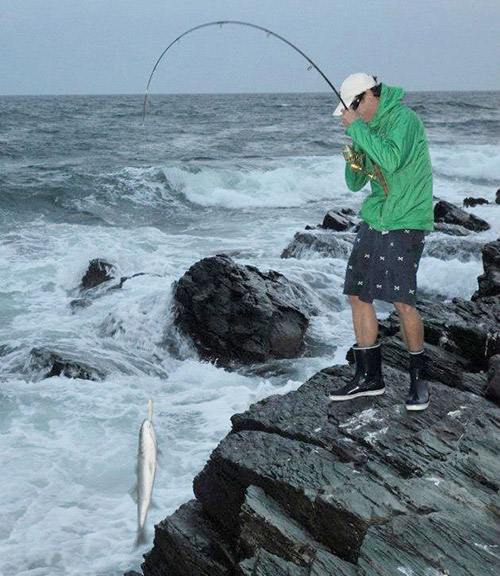 The striper deadlift has claimed many a good surf rod.
