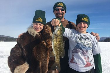 Guide Tim Moore put the Fidelle family into a fine smallmouth bass bite recently on Lake Winnipesaukee!