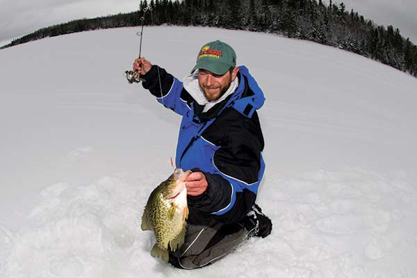 Spoons work on every species of panfish in the Northeast, including bluegills, perch, and big crappie.
