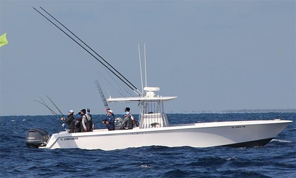 Contender 39 Fisharound Rigged To Fish