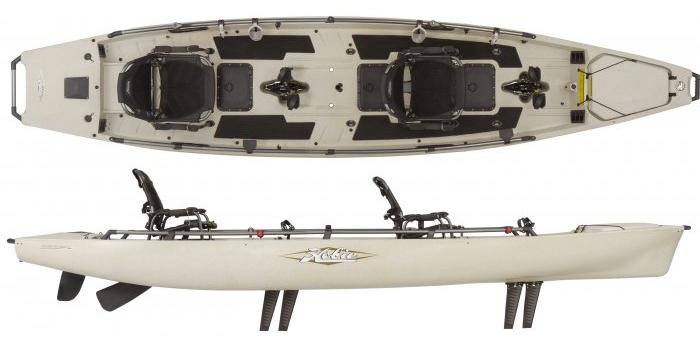 Hobie Mirage Pro Angler 17T
