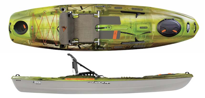 2017 fishing kayak and canoe buyer s guide on the water for Cabela s advanced angler 120 trolling motor
