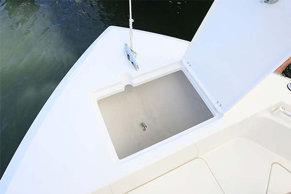 Cobia 220 anchor locker