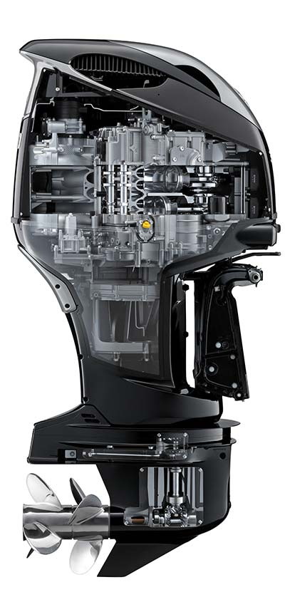 first look: suzuki introduces 350 hp v6 4-stroke outboard - on the