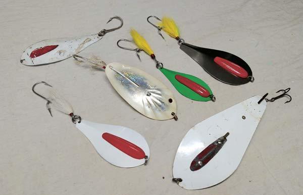 Assortment of bunker spoons