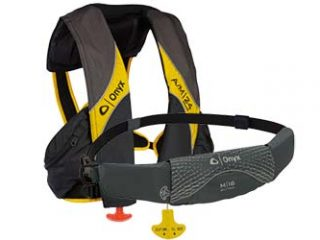 We're giving away 2 Onyx Inflatable Lifejackets! Complete the form to enter for your chance to win an AM-24 Deluxe or a M-16 belt pack!