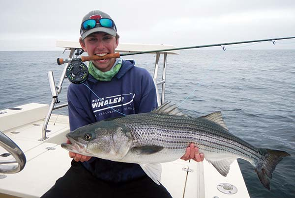The Outer Cape offers a rare opportunity for fly fishermen to target 20-pound stripers.